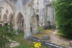 Ruines de l'abbaye de Jumièges !